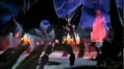 "CM デモンズ・ブレイゾン 魔界村 紋章編 ""Demon's Crest"" (SFC)"