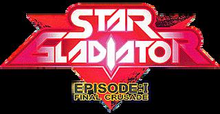 Star Gladiator - Episode 1 Final Crusade arcade logo.png