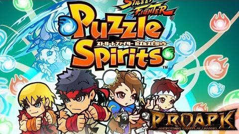 Street Fighter Puzzle Spirits Gameplay Android iOS