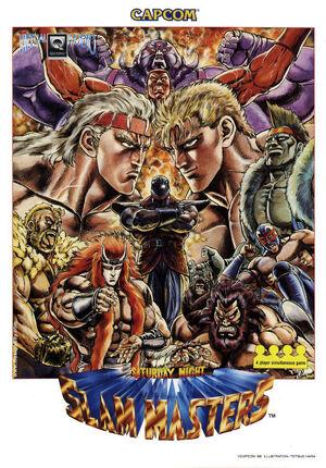 Saturday Night Slam Masters arcade flyer.jpg