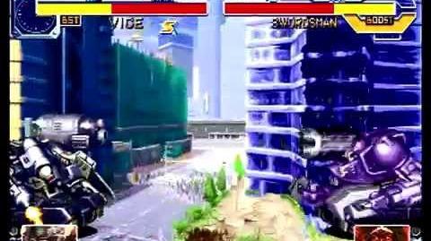 Cyberbots Fullmetal Madness (Sega Saturn) Arcade Mode as Gawaine (Vice)