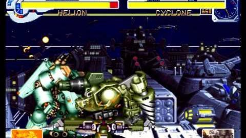 Cyberbots Fullmetal Madness (Sega Saturn) Arcade Mode as Shade (Helion)