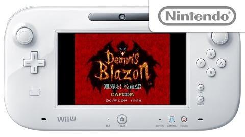 デモンズブレイゾン 魔界村 紋章編 プレイ映像 Wii U