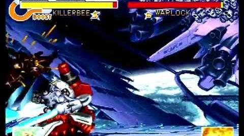 Cyberbots Fullmetal Madness (Sega Saturn) Arcade Mode as Arieta (Killerbee)