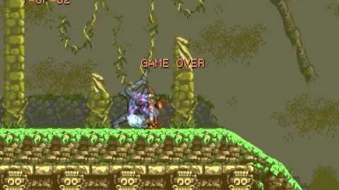 (Demo) ストライダー飛竜 Strider (C)Capcom 1989