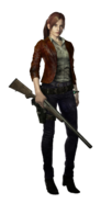 Resident Evil Revelations 2 Claire Redfield render 01 alpha