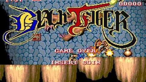 Black Tiger (Capcom 1987) Attract Mode 60fps