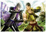 Mitsunari and Ieyasu Tsuchibayashi