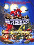Armored Warriors Arcade Flyer