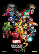 Marvel vs Capcom Mini Mates poster