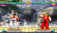 Background of Ryu's New Generation and 2nd Impact stage