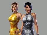 Amber and Crystal