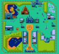 Adventures in the Magic Kingdom map