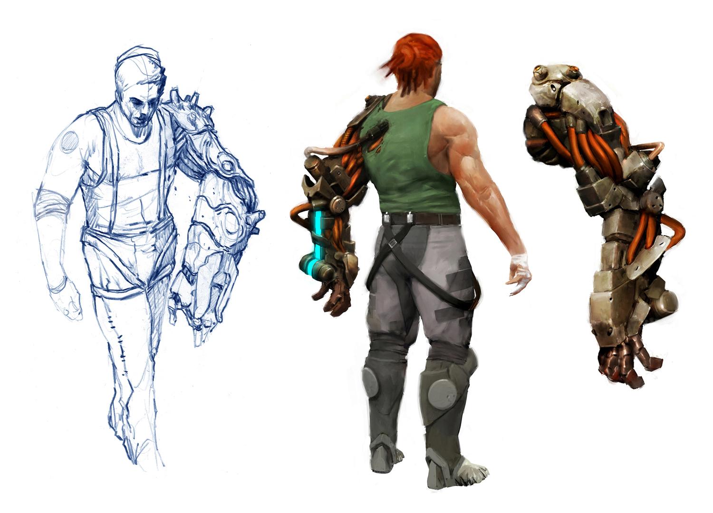Bionic Commando Concept Art - Nathan Rad Spencer 02.jpg