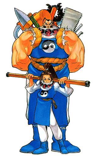 Chiyomaru and Tessan