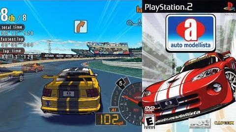 Auto Modellista (PS2 Intro)