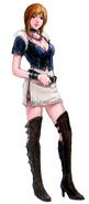 God Hand Olivia concept