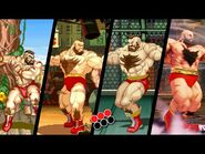 Evolution of Zangief Double Lariat (1991-2020)