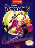 Darkwing Duck Capcom NES box art