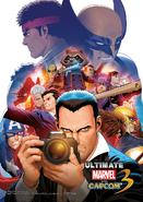 Ultimate MvC3 Art