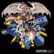 Capcom-store-tokyo-artwork-by-shinkiro
