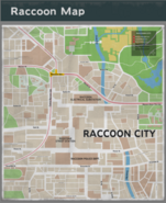 Raccoon City Resident Evil 3 remake map