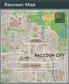 Raccoon City Resident Evil 3 remake map