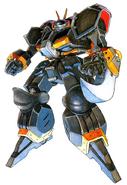 Cyberbots X-0 WARLOCK
