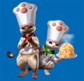 MHF Felyne Chefs