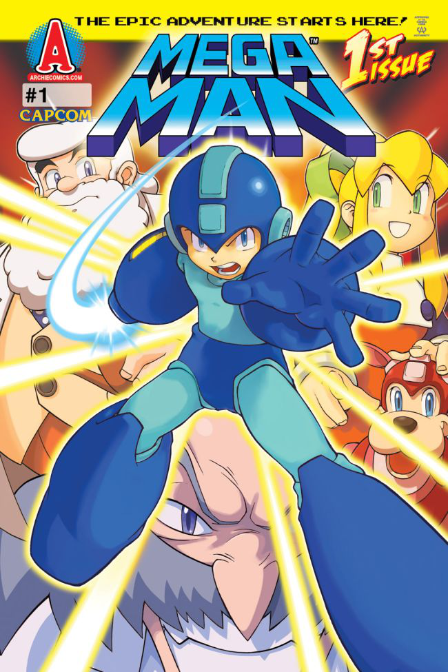 Mega Man Archie issue 1.png