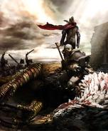 Dragons Dogma Griffin Battle