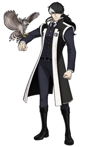 Character art in Phoenix Wright: Ace Attorney - Spirit of Justice.