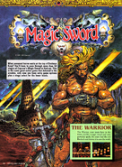 Magic sword nintendo power cover