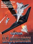 UN Squadron game flyer