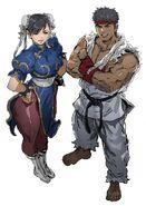 Ryu & Chun-Li - Akiman
