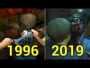 Evolution of You Died! Game Over! in Resident Evil 1996-2019
