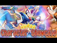 Third Armor X 5* Character Showcase - Mega Man X DiVE