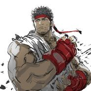 Ryuu street fighter drawn by yasuda akira sample-7bcd3f41496099608139a1950b570a61