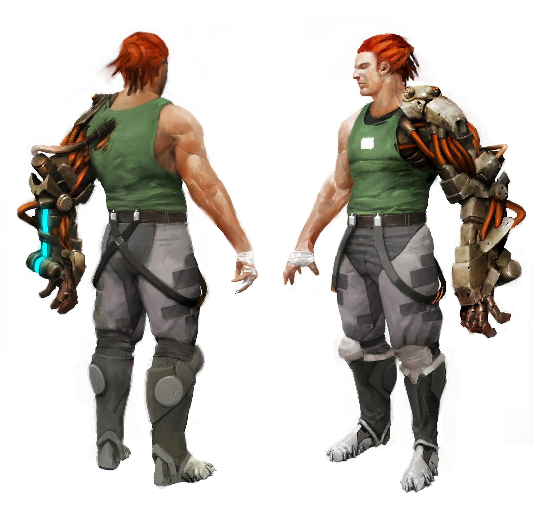 Bionic Commando Concept Art - Nathan Rad Spencer 01.jpg