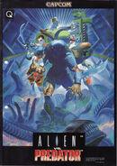 Cover AVP Capcom