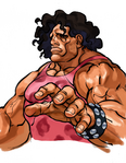 SFIII 2nd Impact Hugo