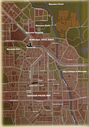 Raccoon City Map