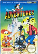 Adventures in the Magic Kingdom Scandinavian Box Art Capcom