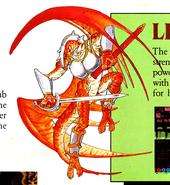 Lizardman-magic sword02