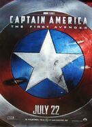Captain america first avenger shield poster1