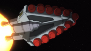 Captain Earth Wiki - Unmanned Impacter - Unkown Impactor