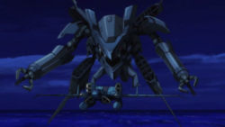 Captain Earth Wiki - Unmanned Impacter- Sarama Engine - Transformed.png