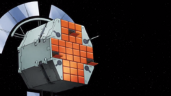 Captain Earth Wiki - Unmanned Impacter - Feige - Satellite.png