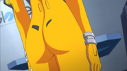 Akari flight suit close up 2