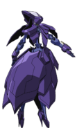 Captain Earth Wiki - Mech - Kiltgang - Type-8 - Siren - Back